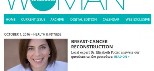 Dr. Potter interviewed by Austin Woman about Breast Reconstruction