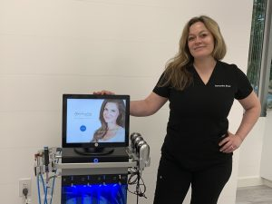Hydrafacial with Samantha